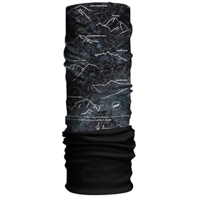 HAD Original Fleece Tube Scarf 8000plus by Reinhold Messner/black
